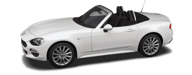 Fiat Spider Left View