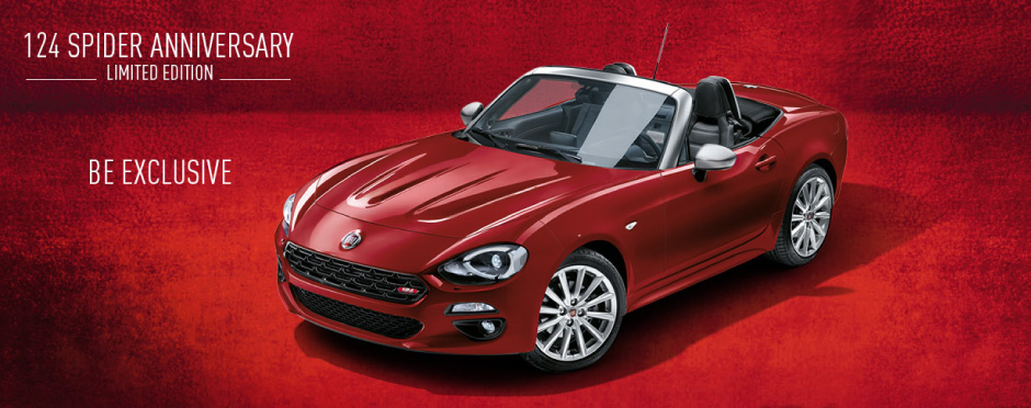 Fiat Spider - Be Exclusive