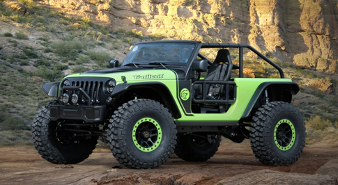 New Jeep Trailcat Concept Revealed
