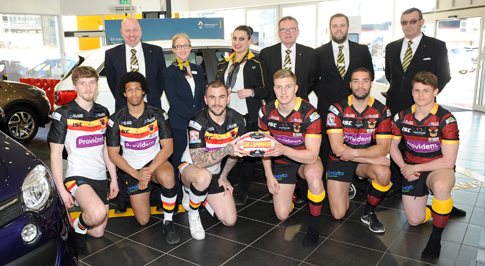 Bristol Street Motors helps Bradford Bulls kick off season