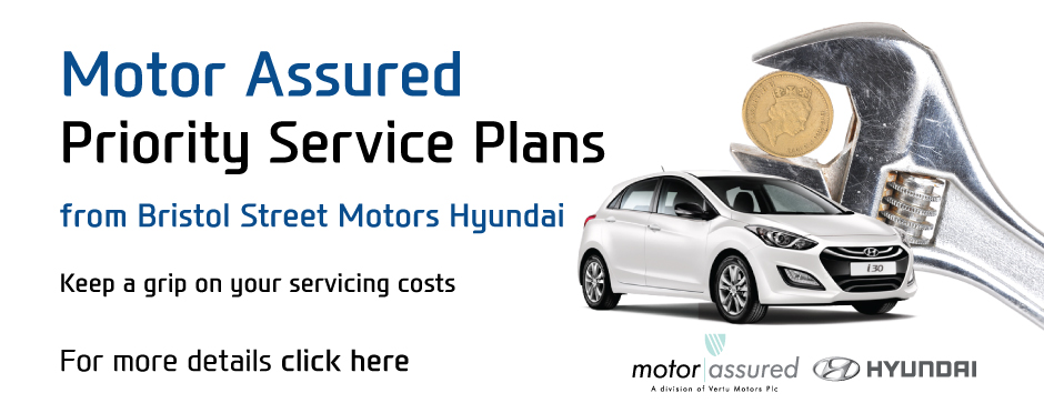 Hyundai Service Centre Hyundai Servicing Bristol Street Motors