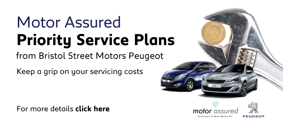 Peugeot Bristol Street Priority Service Offer