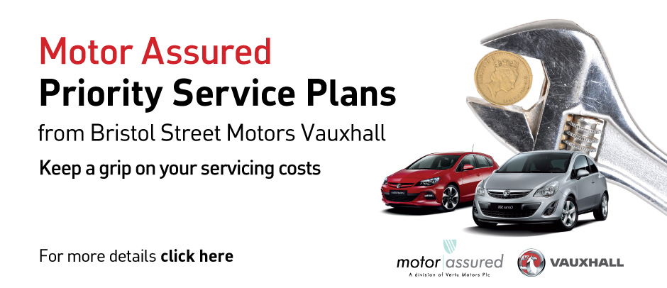 Vauxhall Priority Service Offer
