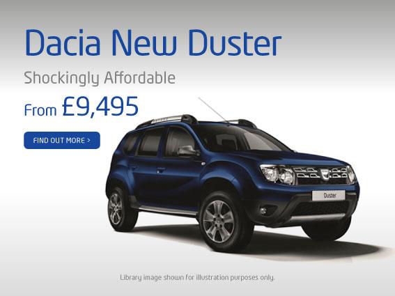 Dacia Car Dealers Nottingham