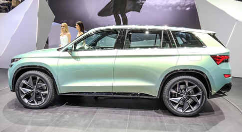SKODA unveil production model of VisionS