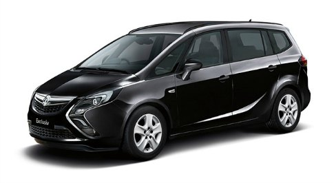 Vauxhall reveals new Zafira Tourer
