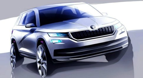 Skoda previews new Kodiaq
