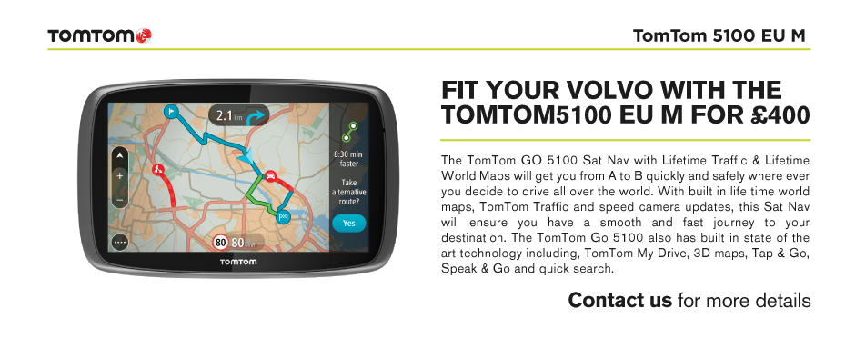 Volvo Aftersales TomTom Offer