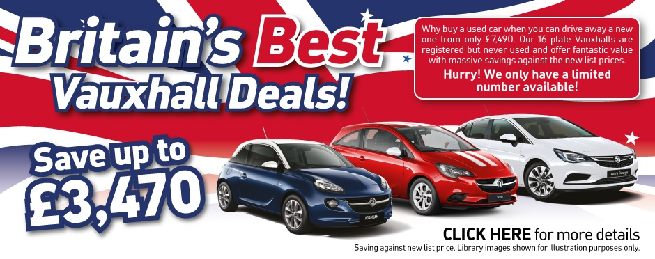 Britain's Best Vauxhall Deals