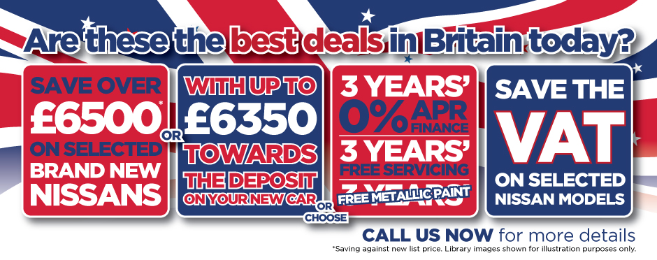 Nissan Britains Best Deals BB