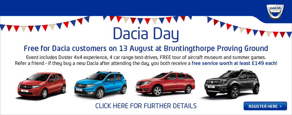 Dacia Day - 13th August 2016