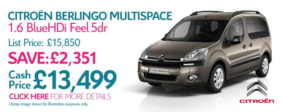 Citroen Berlingo Multispace BlueHDi Feel