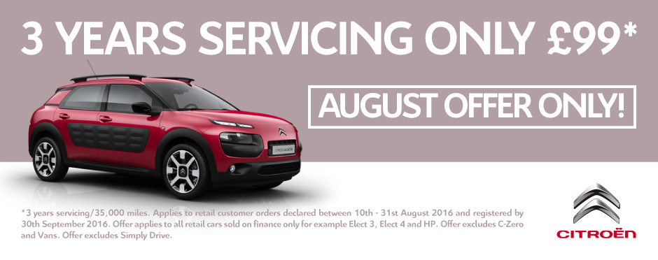 Citroen Servicing Offer