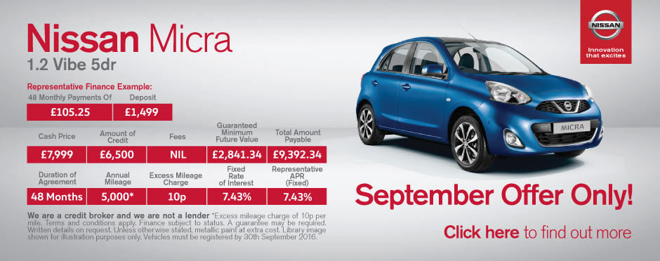 Nissan Micra Deals New Nissan Micra Cars For Sale