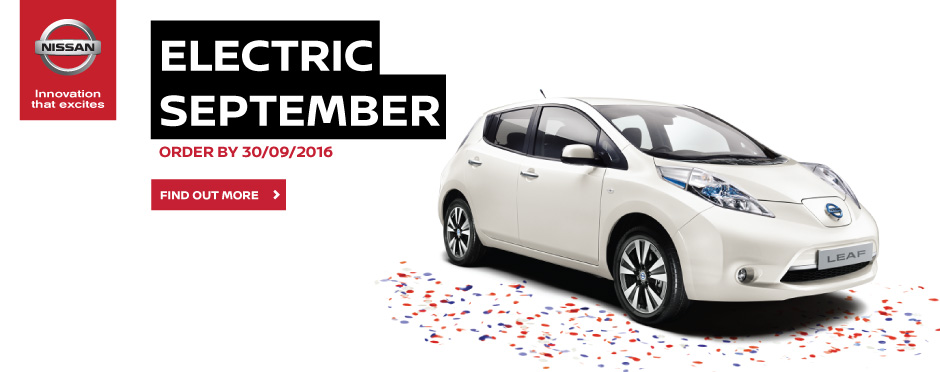 Nissan Electric September Event