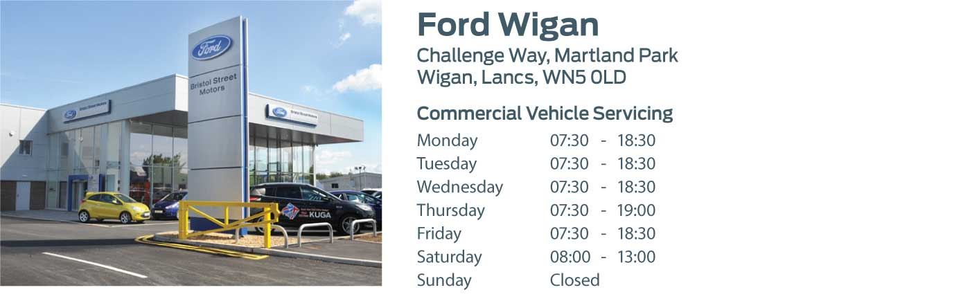 Ford Transit Centre - Locations - Wigan