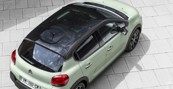 Citroen C3 Panoramic Sunroof