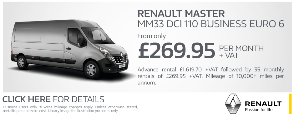Renault Master MM33 DCi 110 Business