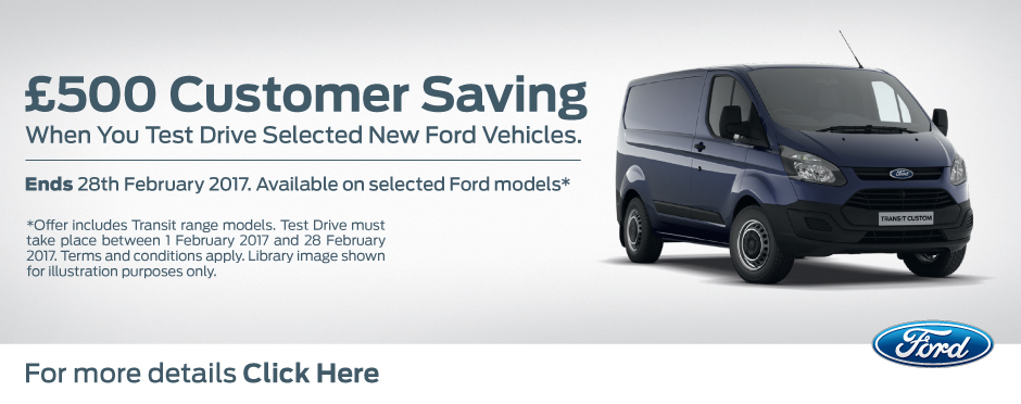 Ford February Test Drive Offer