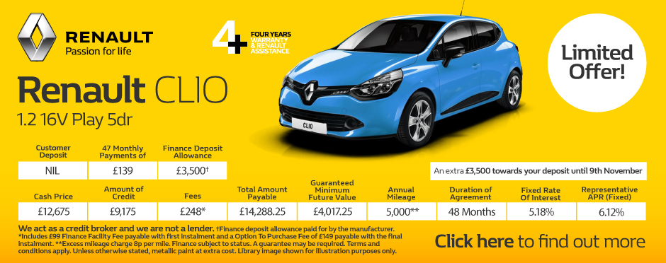 renault clio dynamique nav deals new renault clio dynamique nav cars for sale bristol street. Black Bedroom Furniture Sets. Home Design Ideas