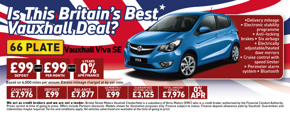 Vauxhall Britains Best Deal Viva