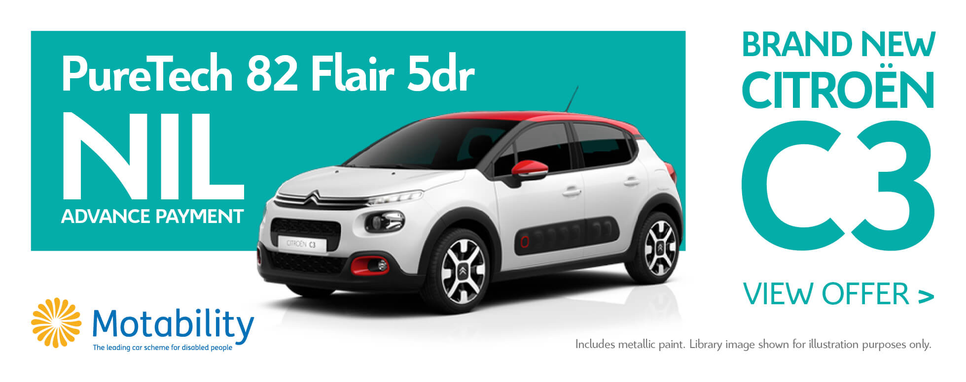 New Citroen C3 - Motab