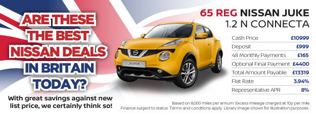 Nissan Juke N Connecta Britain