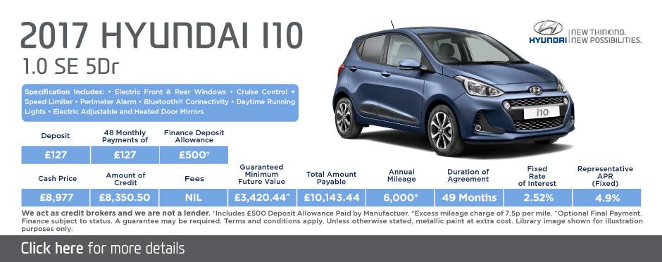New i10 deals