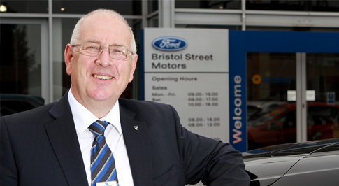 Bristol Street Motors Cheltenham Ford welcomes new GM