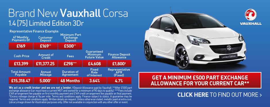Vauxhall Corsa Limited Edition 1.4 [75] BB