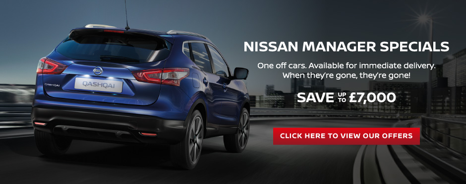 Nissan Manager Specials