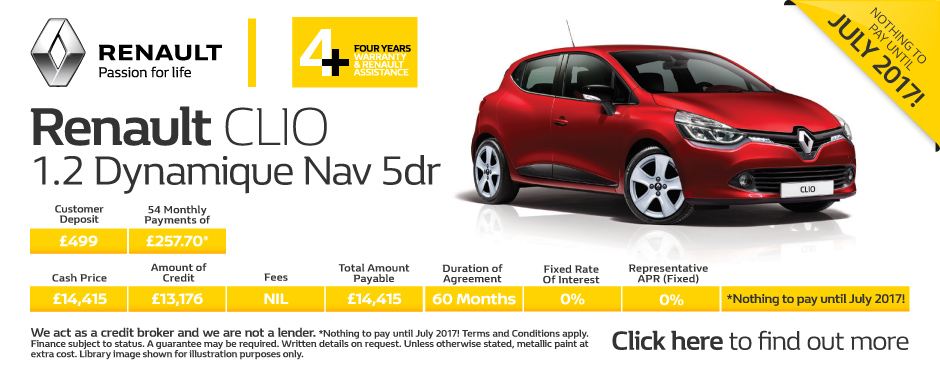 renault clio deals new renault clio for sale bristol street motors. Black Bedroom Furniture Sets. Home Design Ideas