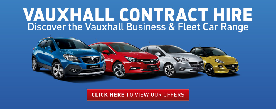 Vauxhall Contract Hire Page