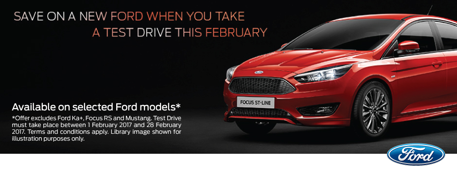 Ford February Test Drive Offers | Bristol Street Motors