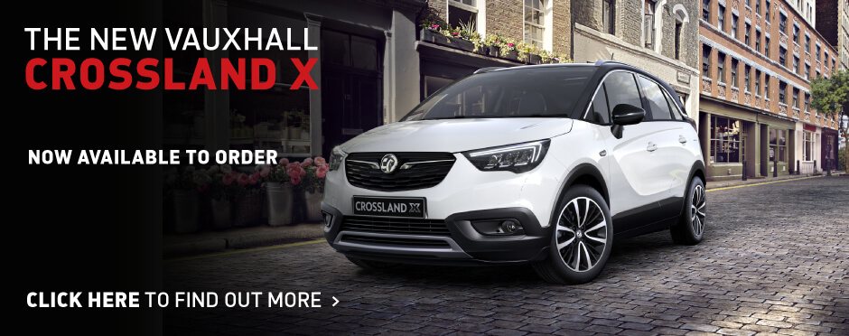 The New Vauxhall Crossland X