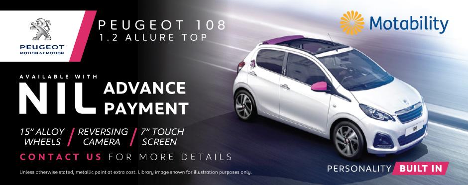 Peugeot 108 Motability BB & Peugeot Motability Cars | Peugeot Motability | Bristol Street markmcfarlin.com