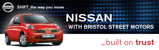 Brand New Bristol Street Motors Nissan dealership in Altrincham