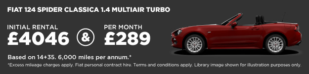 Fiat 124 Spider Contract Hire