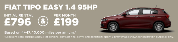 Fiat Tipo Hatch Contract Hire