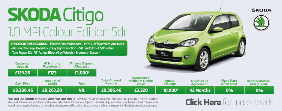 SKODA Citigo Colour Edition 3dr
