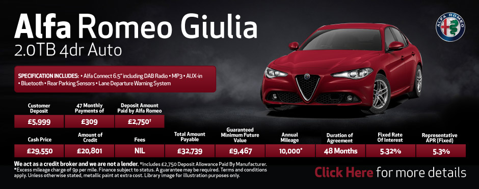 new alfa romeo deals new alfa romeo cars for sale bristol street motors