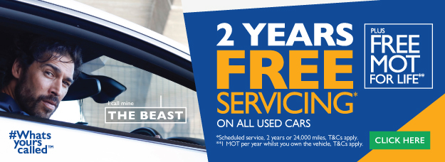 Bristol Street Motors 2 Years Servicing Whats yours Called?