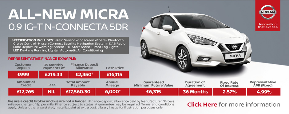 Nissan Micra N-Connecta 0.9