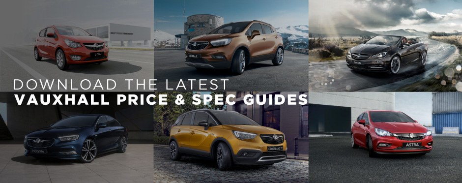 Vauxhall Price & Spec Guides Downloads BB