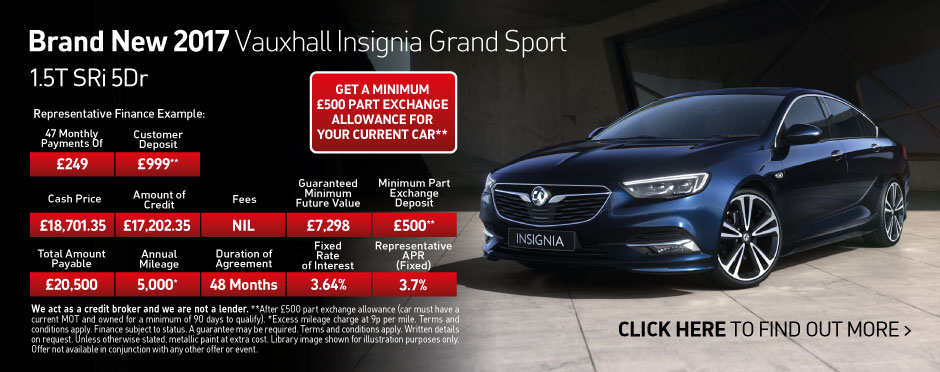 The New Vauxhall Insignia Grand Sport