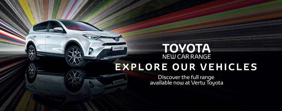 Toyota New Car Banner