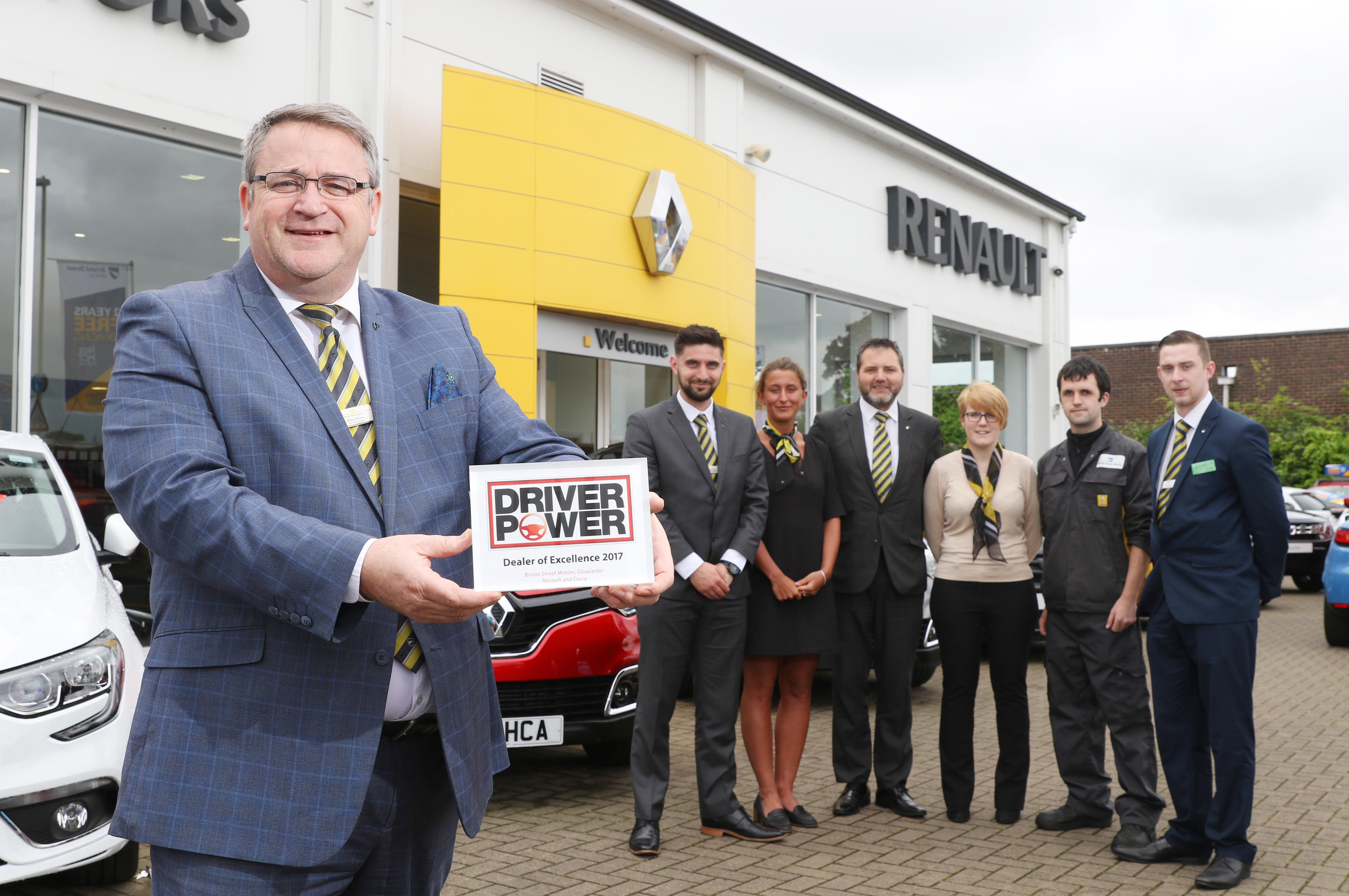 Renault Gloucester wins award hosted by Auto Express