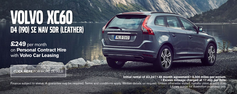 Volvo XC60 D4 [190] SE Nav 5dr [Leather] - PCH
