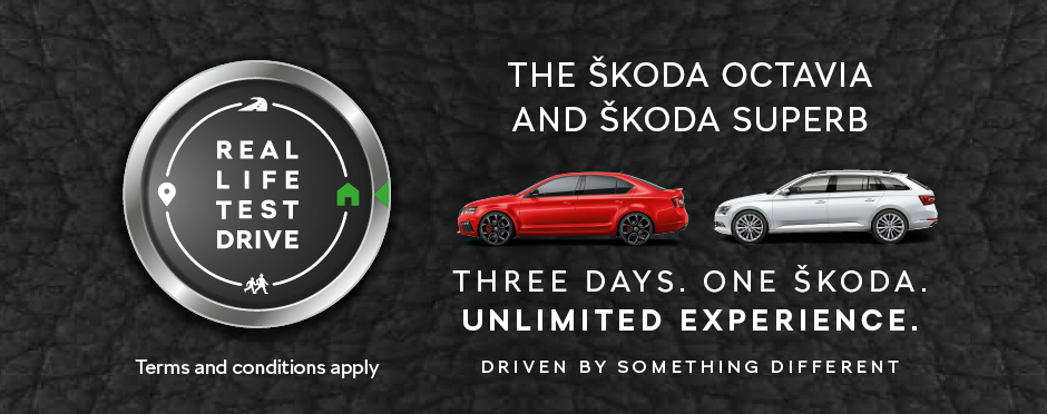 SKODA Three Day Test Drive