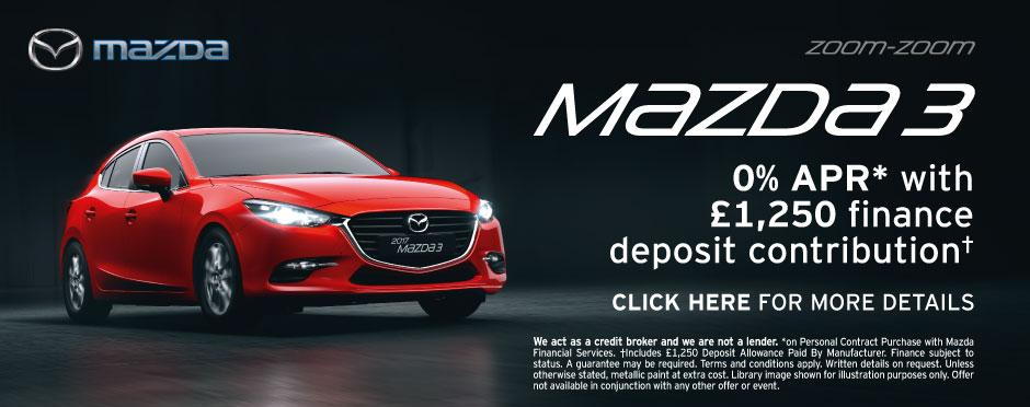 Mazda 3 Deals  New Mazda 3 for Sale  Bristol Street Motors